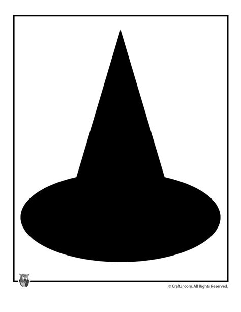 paper witch hat template the 25 best templates ideas on