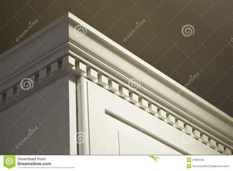 kitchen cabinet cornice moulding kitchen cabinet crown moulding royalty free stock photo