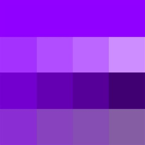 violet purple violet web hue tints shades tones hue pure color