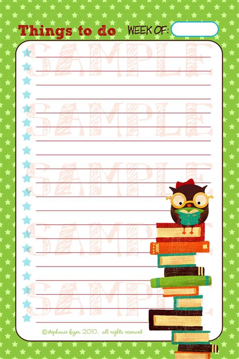 notepad design template digital design 1 page 4