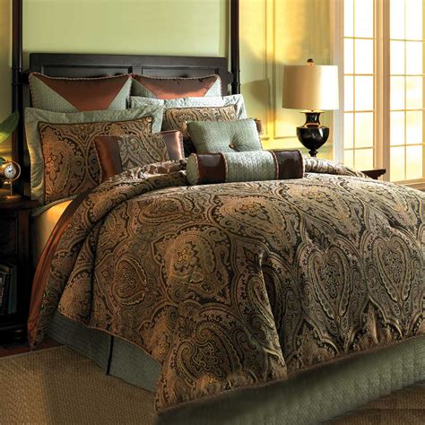 queen comforter set western bedding queen size canovia springs comforter set
