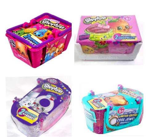shopkins season 3 basket gift set bundle shopkins season 2 3 4 fashion spree basket bundle set