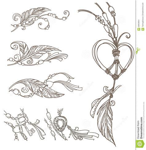 free doodle design elements boho doodles stock vector image of doodle culture