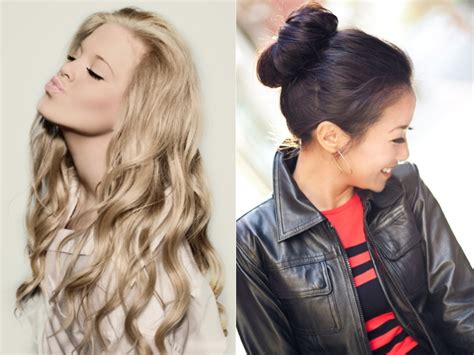 hairstyles for long hair video playlist work hairdo triple weft hair extensions