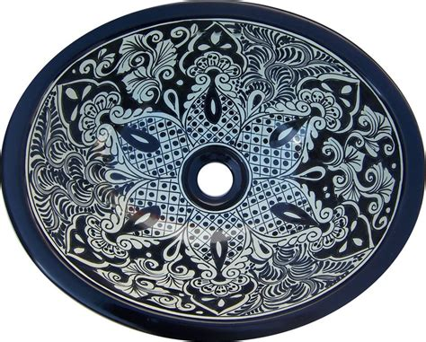 mexican bathroom sinks s 184 mexican 11 5x16 quot ceramic talavera bathroom sink ebay