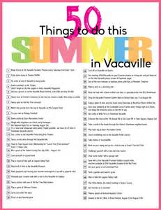 50 things to do this summer in vacaville 2014 edition