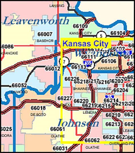kansas city zip code map kansas zip code map including county maps
