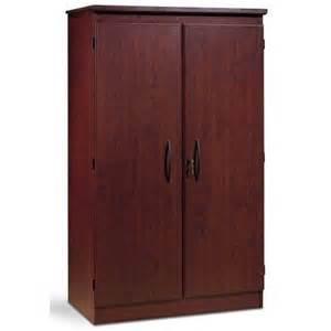 Locking Pantry by Cherry 36 In 2 Door Storage Cabinet Kitchen Pantry