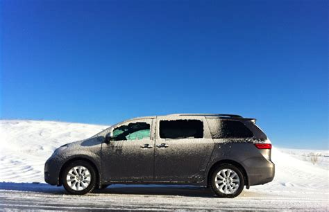 toyota awd capsule review 2015 toyota sienna awd the truth about cars