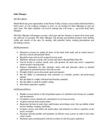 Associate Account Manager Cover Letter by Resume Exles Outside Sales Resume Account Management Resume Description For Sales