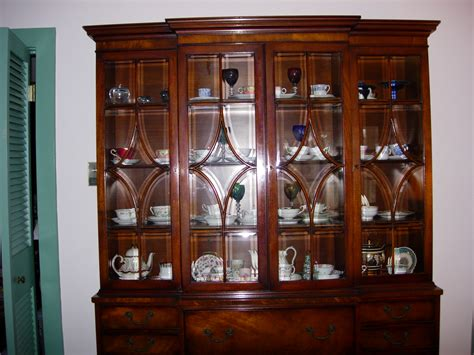 china cabinet for sale mahogany china cabinet bookcase henredon for