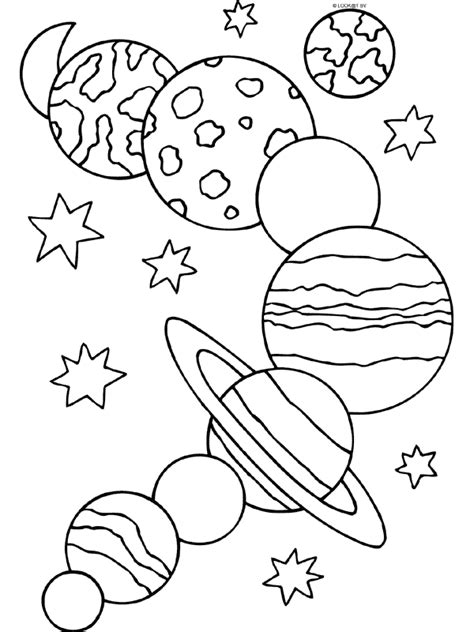 preschool coloring pages outer space kleurplaten ruimte google zoeken prv pinterest