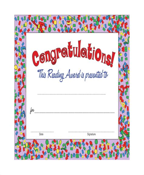 13 congratulations certificate templates free sle