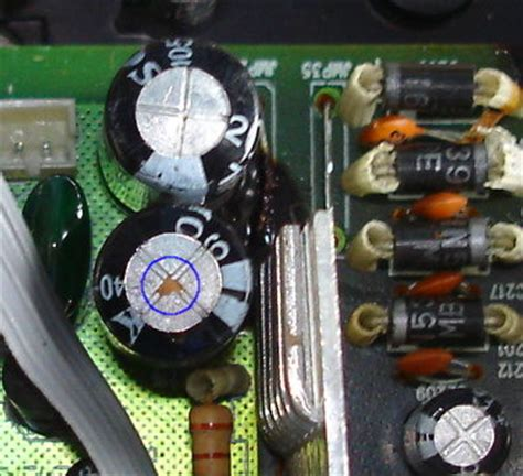 how to test defective capacitor faulty capacitors 28 images replacing faulty capacitors spotting bad capacitors robot room
