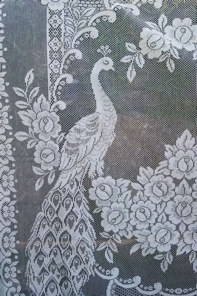 antique lace  crochet curtains images