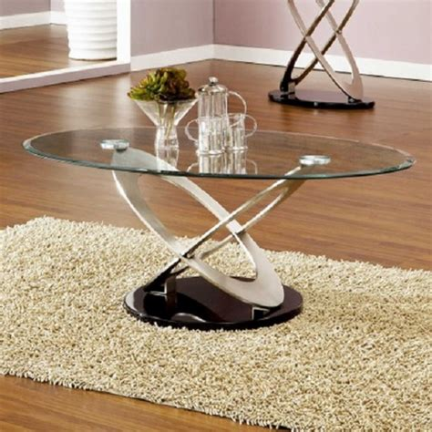 tim clear glass coffee table with gloss white and melamine
