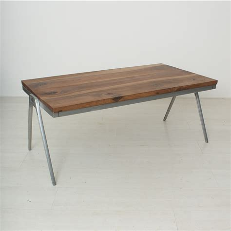 Coffee Table Solid Vintage Solid Walnut Coffee Table For Sale At Pamono
