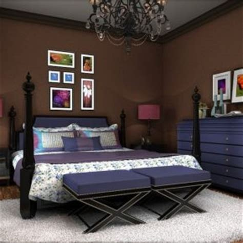purple and brown bedroom ideas 20 bold interior color schemes for bedrooms interior
