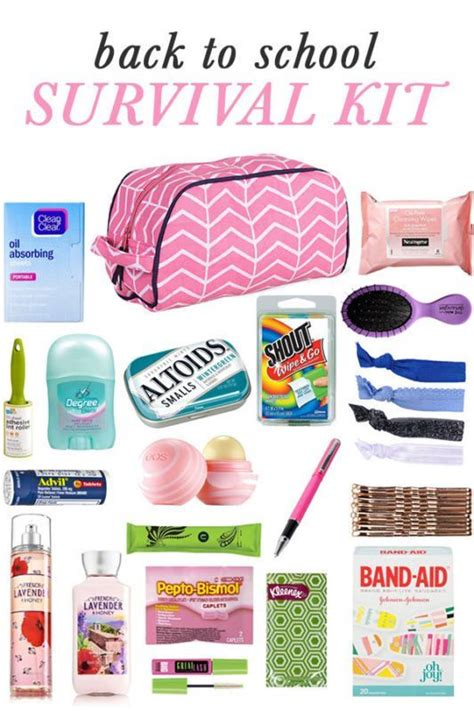 7 Back To School Solutions by Diy Back To School Survival Kit School Survival Kits