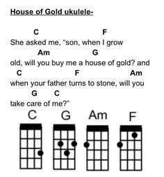 house of gold guitar chords quot house of gold quot by twenty one pilots ukulele tabs on ukutabs music pinterest t