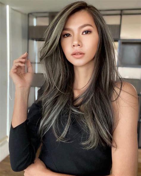 model warna rambut wanita