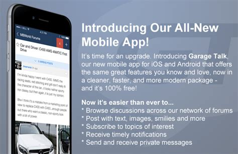 Introducing Our Downloadable Invites by Introducing The Brand New Mobile App Garage Talk