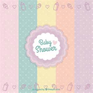 baby shower badge vector free