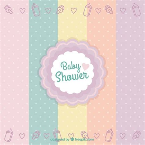 Or Baby Shower by Baby Shower Badge Vector Free
