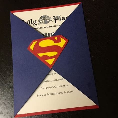 Superman Wedding Invitations 25 best ideas about superman wedding on