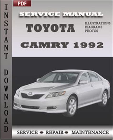 toyota camry 1992 engine workshop repair manual repair service manual pdf