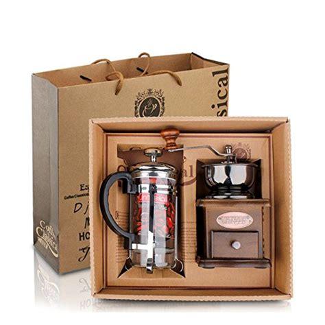 Set Paket Coffee Maker Grinder Press Cangkir Set Kopi Filter defancy vintage style manual coffee grinder grinder press coffee tea maker set in