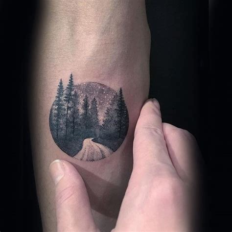 simple tattoos for men 60 forearm tree designs for forest ink ideas