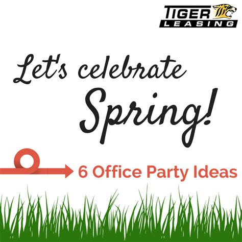 spring themed work events equipment leasing blog spring office party ideas