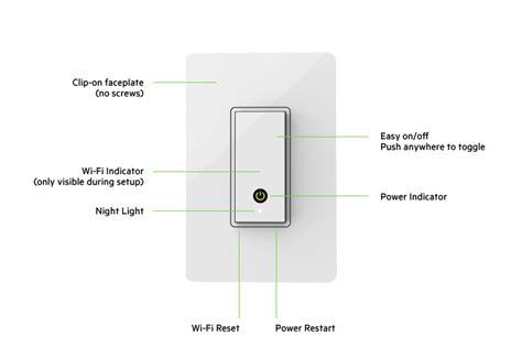 Wemo Light Switch 3 Way by Wemo 174 Wi Fi Smart Light Switch