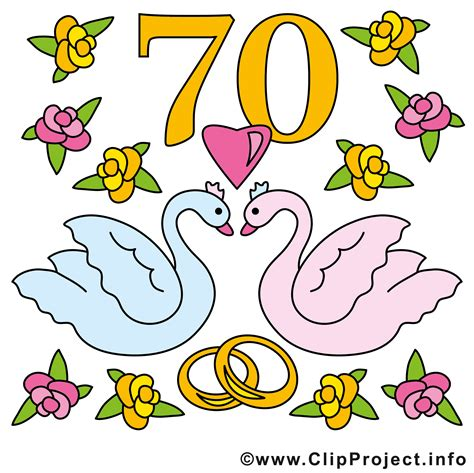 Hochzeit 70 Jahre gnadenhochzeit 70 jahre zusammen clipart hochzeit