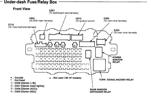 wiring diagram for a 1996 honda civic wiring diagram and