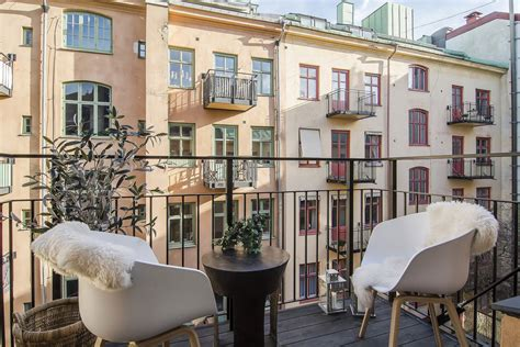 appartments in stockholm balcony table chairs apartment in 214 stermalm stockholm