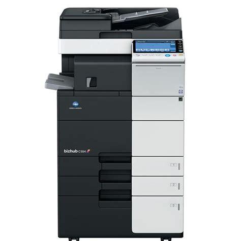 color copiers konica minolta bizhub c554 color copier printer scanner