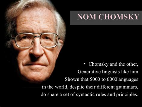 Job Interview Resume by Language Acquisition Device Noam Chomsky
