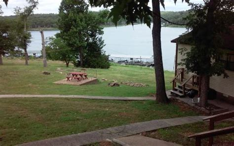 cliff jumping picture of bull shoals lake resort midway