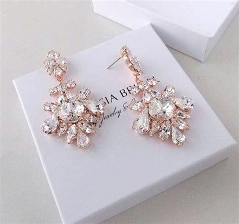 Hochzeit Ohrringe Vintage by Wedding Earrings Chandelier Bridal Earrings Gold