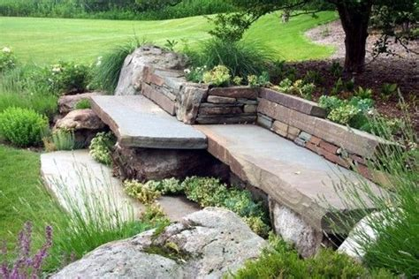 stone benches 1000 ideas about stone bench on pinterest large garden