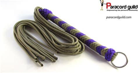 Ideas For Spicing Up The Bedroom how to make a paracord flogger paracord guild