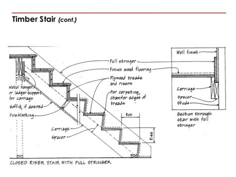 stair section detail wood stair details drawings pictures to pin on pinterest