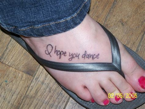 i hope you dance tattoo my new in memory of my our song was quot i