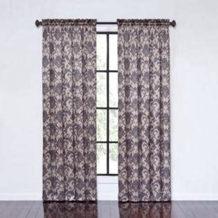 taupe damask curtains eclipse curtains dominica thermapanel damask printed taupe