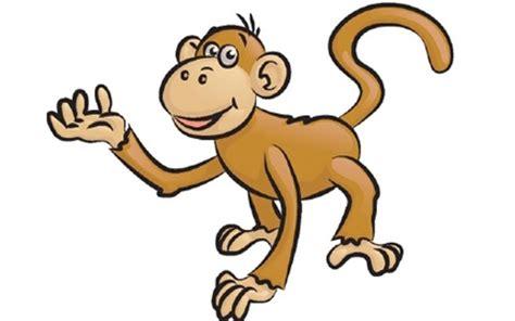 gambar kartun monyet gambar pemandangan
