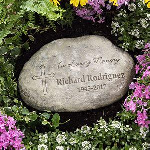 personalized memorial garden stones  loving memory