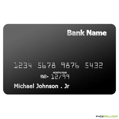 black credit card template 13 credit card psd template images credit card design