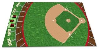 baseball field rug contemporary kids rugs by kidcarpet